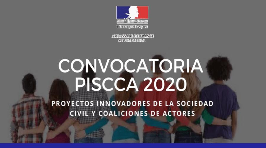 Convocatoria PISCCA 2020 1