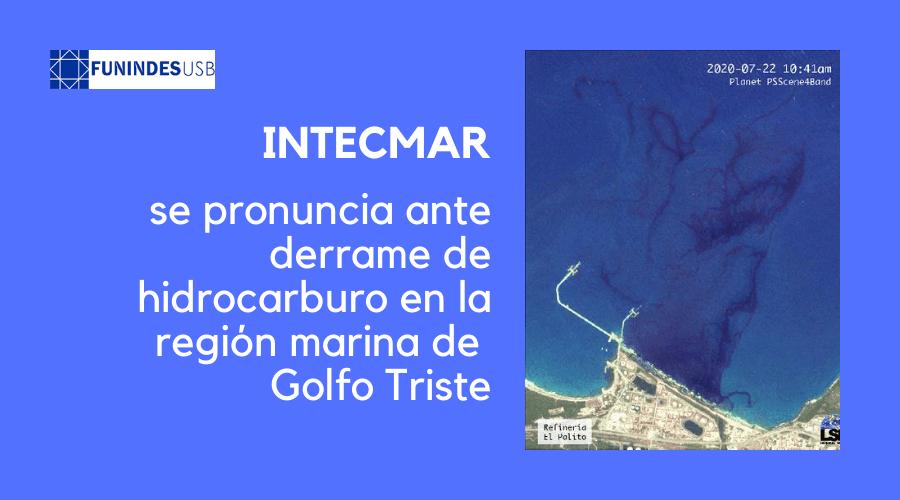 Golfo Triste Intecmar_derrame_hidrocarburo_Venezuela_Funindes