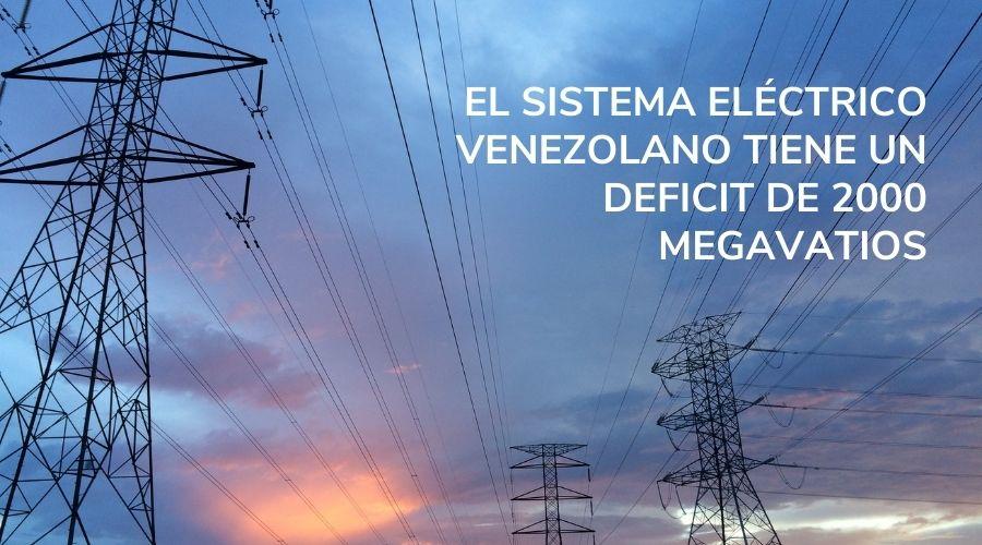 sistema eléctrico venezolano-funindes-deficit